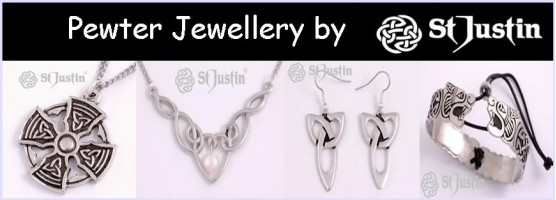 St Justin Pewter Jewellery
